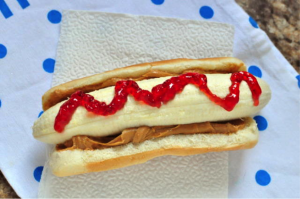 Banana Hotdogs for Kid Cooks
