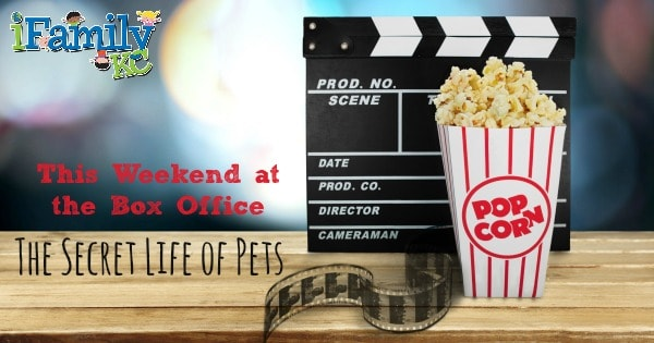 This Weekend at the Box Office: The Secret Life of Pets