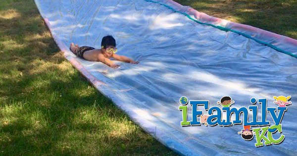 Fun for the Weekend: Create Your Own Slip and Slide