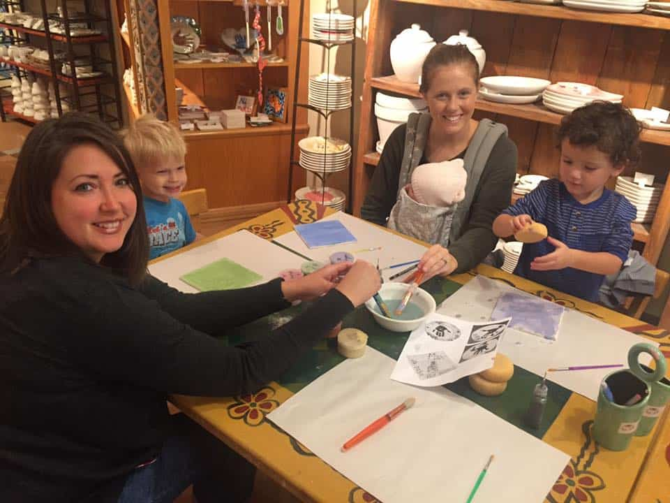 iFamilyKC Kids Club Exclusive: The Ceramic Cafe Wrap-Up!