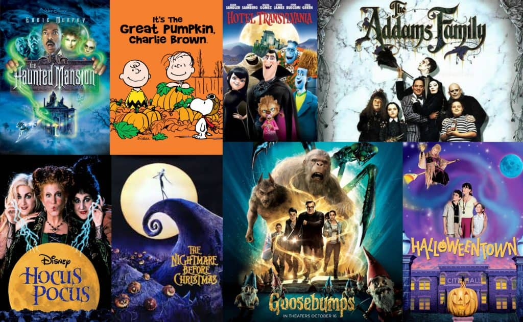 The Best Halloween Movies for Every Age Group!
