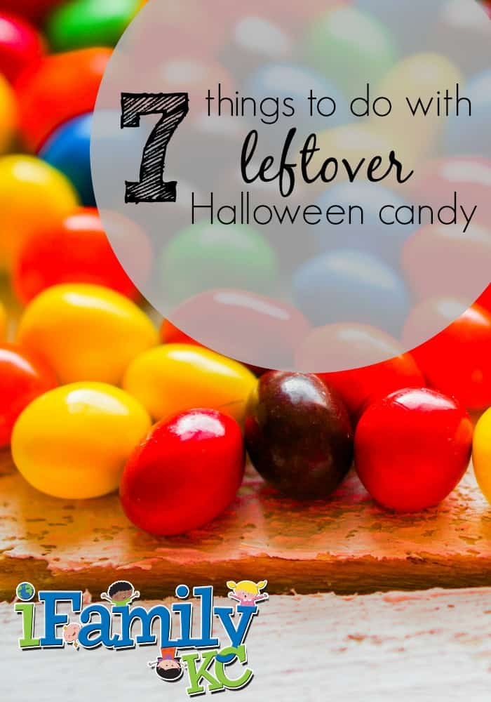 7 Things to Do With Leftover Candy!