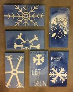 Check Out This Easy & Inexpensive Winter Art Activity