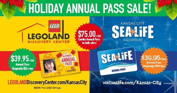 Give the Perfect Gift with This Sea Life & Legoland Annual Pass Sale!