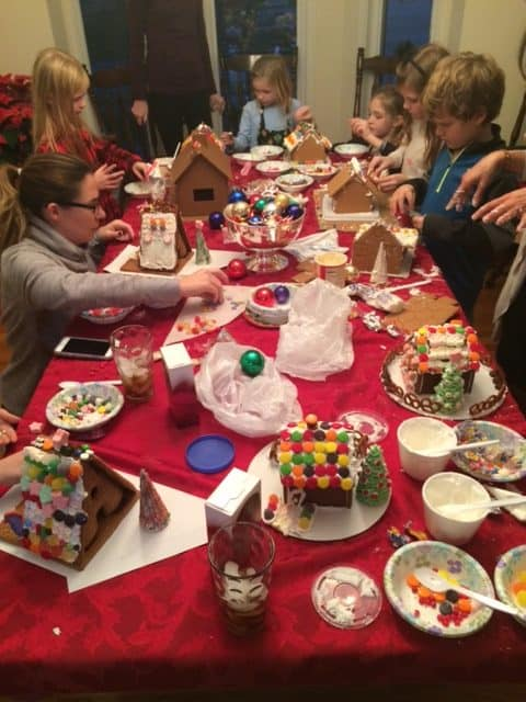 How to host a Unique & Fun Gingerbread House Party