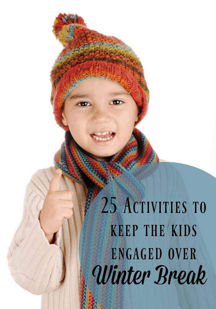 25 Activities to Keep Your Kids Engaged this Winter Break // iFamilyKC Blog