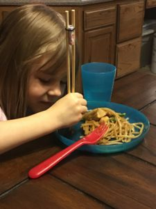In the Kitchen: Easy Chicken Chow Mein // iFamilyKC Blog