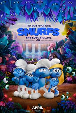 Smurfs Lost Village giveaway