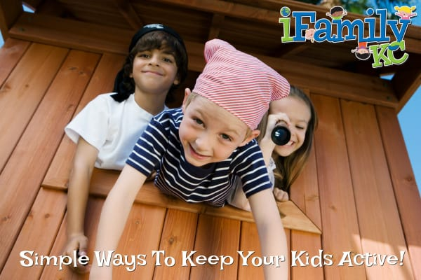 encourage your kids to be active all year round