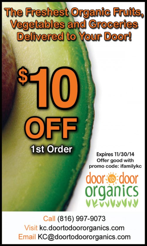 Kc door to door organics coupon code